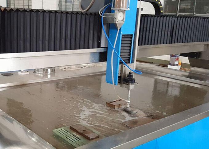38KW sähköinen vesisuihkuleikkuri CNC-vesiteräsleikkuri 3,7 l: n virtausnopeus
